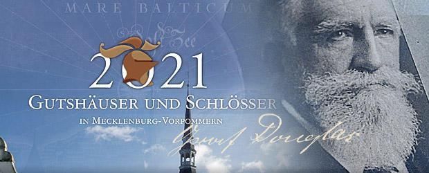 Gutshauskalender 2021, Ralswieck, Douglas