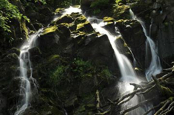 Bornholm, Døndalen Wasserfall