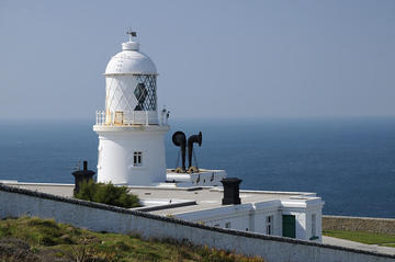 Pendeen Leuchtturm an der Westspitze Cornwalls