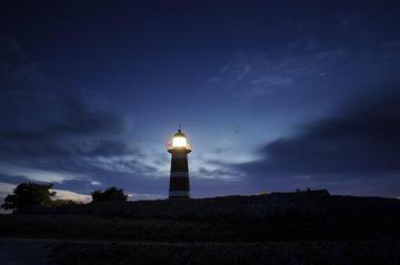 der Leuchtturm auf Närsholmen, Gotland