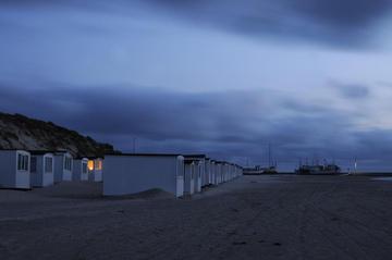 Letzte gemütliche Abende in den Strandhütten in Løkken.