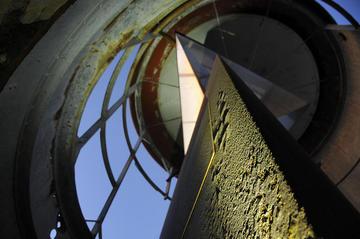 Im Leuchtturm »Rubjerg Knude«