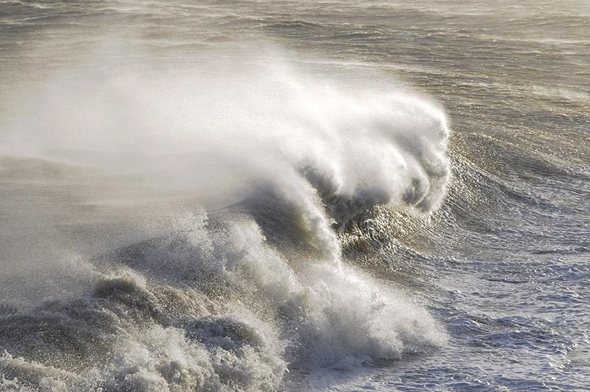 Atlantik im Warnemünder Hafen ...