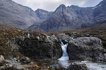 Schottland, Skye, Fairy Pools