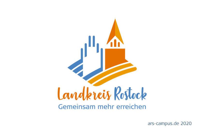 Landkreis Rostock Wettbewerbslogo