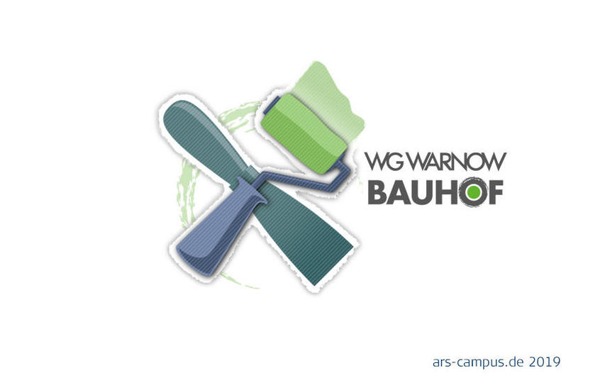 WG WARNOW: Logo Malerbereich