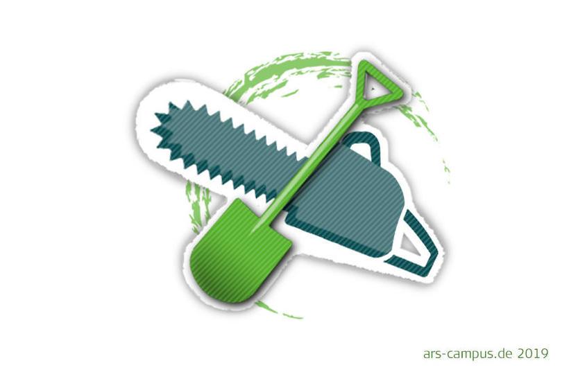 WG WARNOW: Logo Gartenservice