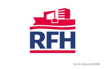 Logo RFH, Rostocker Fracht- und Fischereihafen