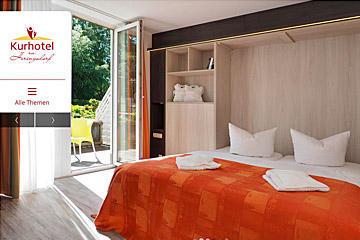 Responive Website Kurhotel zu Heringsdorf
