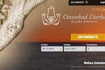 Dierhagen; Website 2016