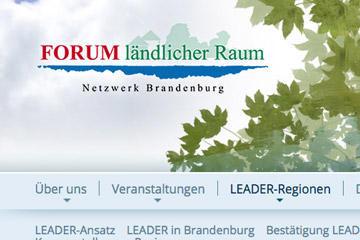 Das Forum ländlicher Raum - Netzwerk Brandenburg