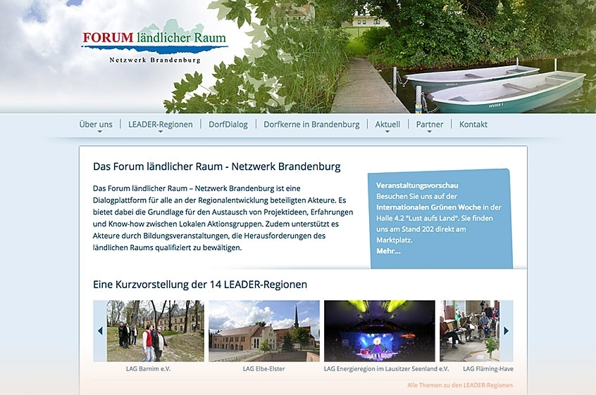 Netzwerk Forum ländlicher Raum Brandenburg