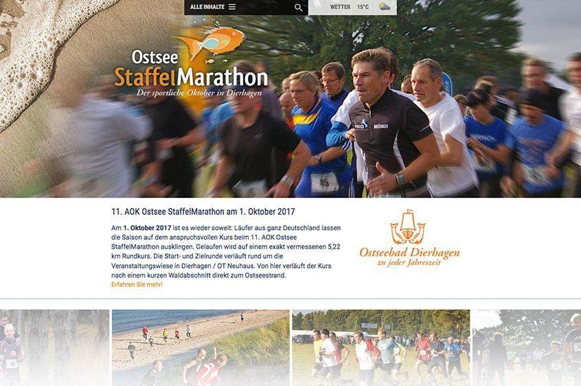 Ostsee Staffelmarathon Startseite 2017