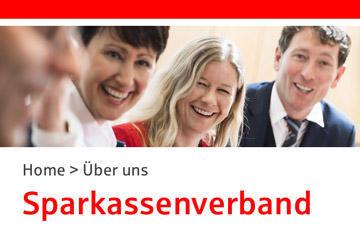 Webdesign für den Sparkassenverband Bayern