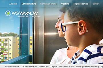 WG-Warnow; responsive Website