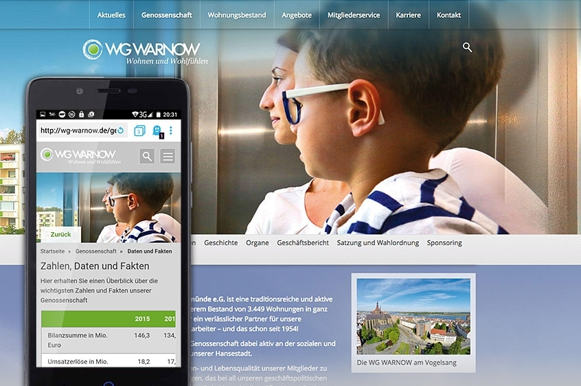 WG-Warnow: Responsive Website